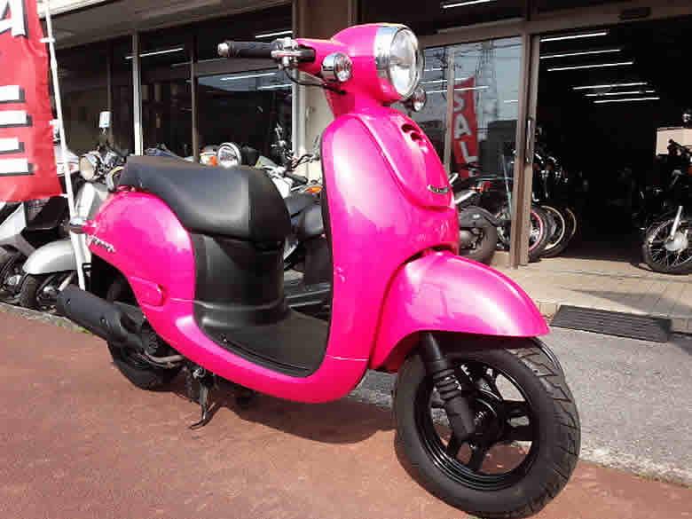 ホンダ ジョルノ 中古車 ピンク 走行距離20,352km フューエルインジェクション付 4サイクル