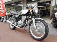 売約済 ホンダ GB250 クラブマン5型 中古 ブラック&シルバー 走行距離5,161km 空冷DOHC4バルブ単気筒