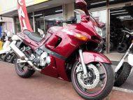 売約済 カワサキ ZZR400 N型 中古車 ワインレッド 走行距離20,895km 水冷4サイクル16バルブ