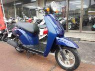 ホンダ トゥデイ 中古車 ネイビーブルー メーター走行距離3,453km シャッターキー付 4サイクルエンジン