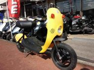 スズキ チョイノリ 中古 イエロー 激安29,800円 走行距離9,371km 日本製  4サイクルエンジン