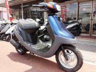 ヤマハ ジョグアプリオ 中古車 ネイビー メーター走行距離7,597km  空冷2サイクルエンジン