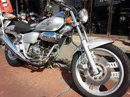 ホンダ マグナ50 中古車 シルバー 走行距離39,762km フルノーマル車 4サイクル&4速ギヤ