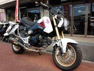 ホンダ グロム 中古 ホワイト 走行距離10,994km FI 4速マニュアル車 4サイクル125cc