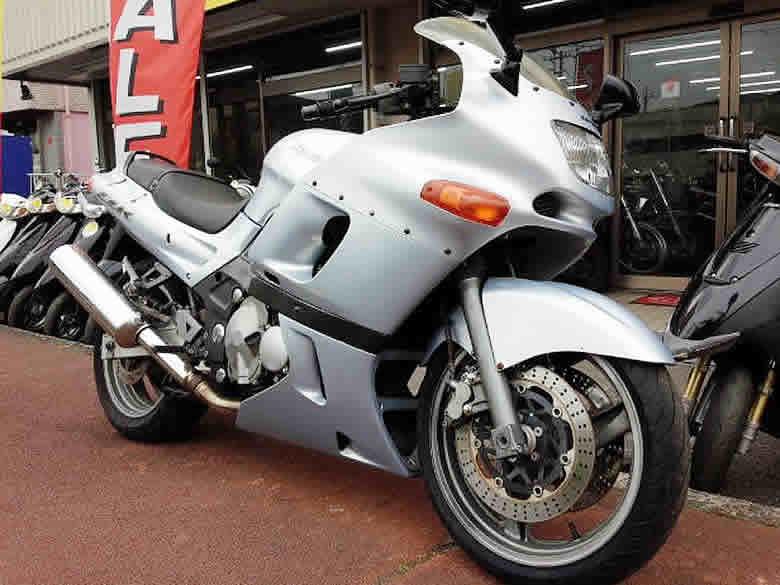 カワサキ ZZR400 N型 中古車 ライトブルー 走行距離16,646km フルノーマル 水冷4スト