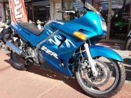 カワサキ ZZR250 オーシャンブルー 走行距離17,602km 水冷4サイクル並列2気筒エンジン