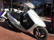 ホンダ Dio/AF62 シルバー メーター走行距離3,876km 4サイクルエンジン