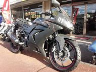 カワサキ Ninja 250R サビ風マットグレーペイント メーター走行距離6,154km FI付 水冷4サイクル