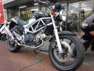 ホンダ VTR250 FI ブラック 走行距離6,664km モリワキマフラー+FI付き 水冷4サイクルVツイン
