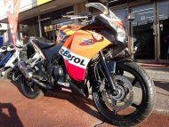 ホンダ CBR250R レプソルカラー 走行距離35,782km ABS+ヨシムラマフラー付 水冷4サイクル単気筒