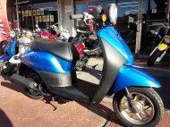ホンダ トゥデイ FI ブルー 走行距離21,246km シャッターキー付き 4サイクル